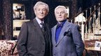 Sir Ian McKellen and Derek Jacobi stars of ITV1 sitcom Vicious