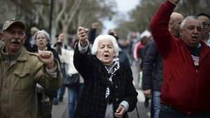 Protests in Portugal