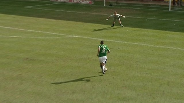 Doncaster Rovers injury time goal