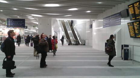 New Street concourse