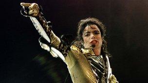Michael Jackson file picture 1997