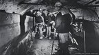 An underground tour at Big Pit in 1983