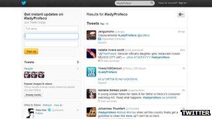 Twitter #LadyProfeco