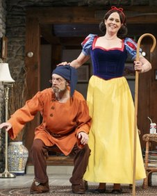 David Hyde Pierce and Sigourney Weaver in Vanya and Sonia and Masha and Spike