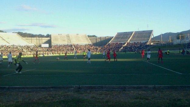 The Kamuzu Stadium in Blantyre