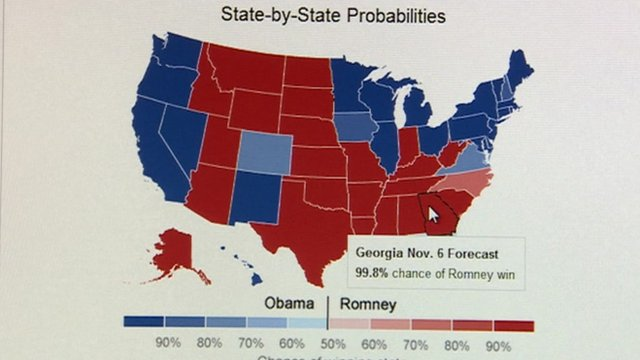 US pollster Nate Silver on UK and US election results BBC News