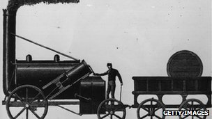 The Rocket, designed by George Stephenson
