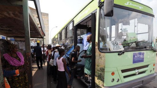 Mobile phone data redraws bus routes in Africa