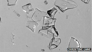 Toba traces: The volcanic glass fragments are thinner than human hair