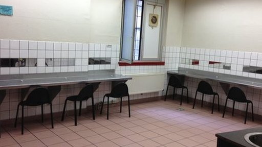 Drug consumption room in Frankfurt