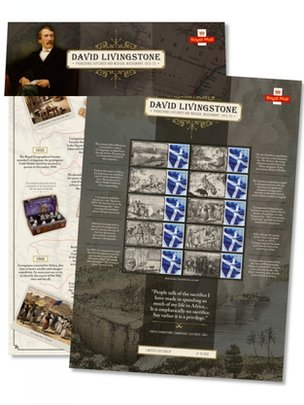 David Livingstone stamps