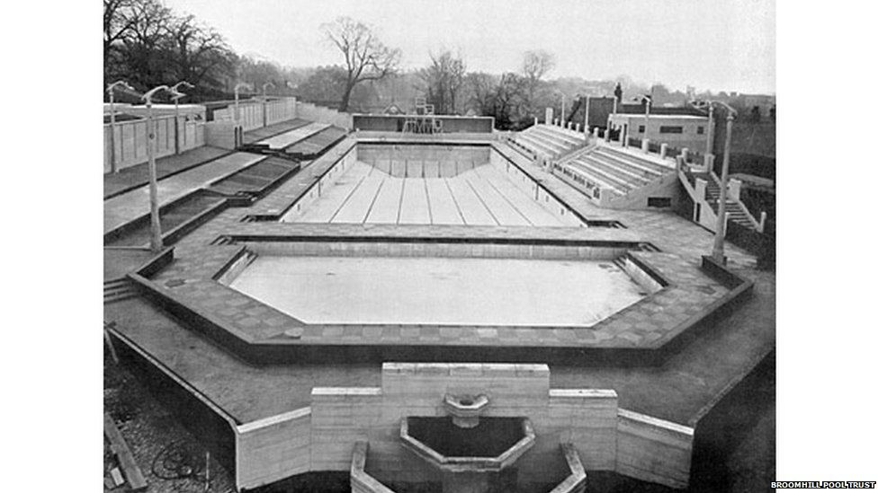 in pictures ipswich 39 s broomhill open air swimming pool 39 s 75th birthday bbc news