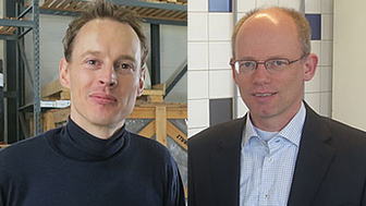 Daan Roosegaarde and Hans Goris