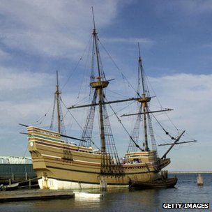 Mayflower replica, Plymouth, USA
