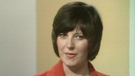 Delia Smith in 1973