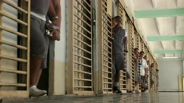 A Glimpse Inside Cuba S High Security Prisons Bbc News