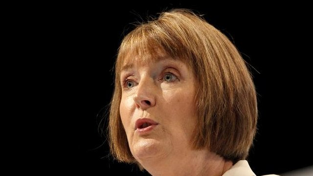 Harriet Harman delivers her keynote speech at the Labour Conference in Liverpool,