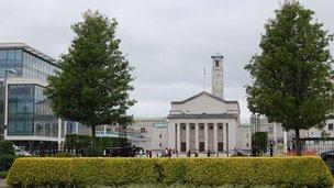Southampton Guildhall Square