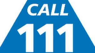 NHS 111 logo