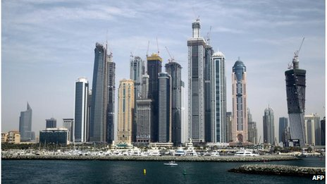 Dubai skyline (file photo)