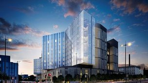 Image of the new Royal Liverpool Hospital