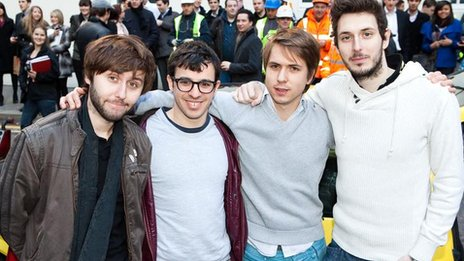 Cast of The Inbetweeners