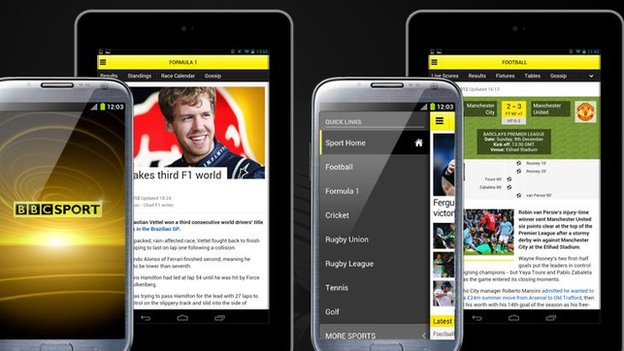 BBC international android app