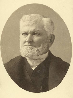 Wilford Woodruff in 1889