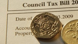 generic council tax bill