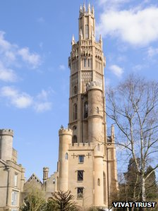 Restored Hadlow Tower