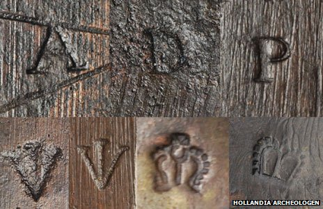 Musket markings