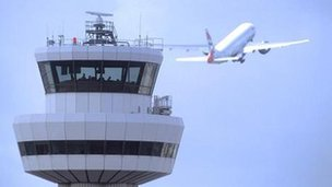 Gatwick control tower