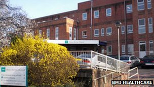 BMI Mount Alvernia Hospital, Guildford
