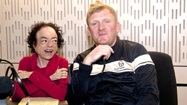 Liz Carr and Rob Crossan