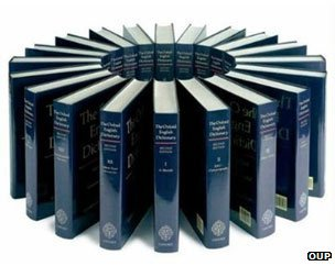 OED volumes in a circle