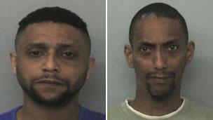 Bassam (left) and Mohammed Karrar