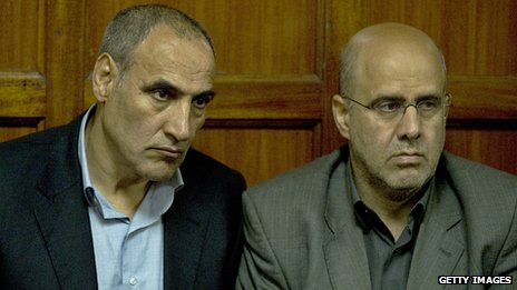 Sayed Mansour (L) and Ahmed Mohammed