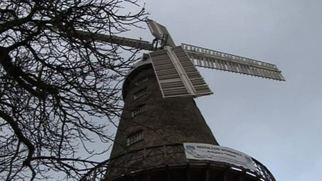 Moulton windmill