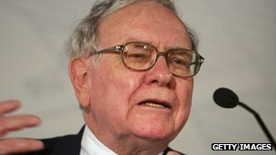 American Billionaire Warren Buffett