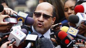 Opposition lawyer Gerardo Fernandez