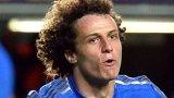 David Luiz celebrates scoring Chelsea's third