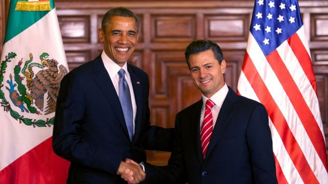President Barack Obama and President Enrique Pena Nieto