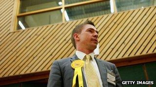 Lib Dem candidate Richard Elvin
