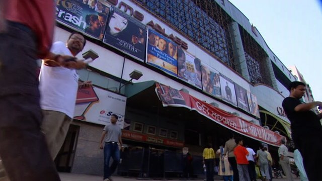A cinema in India