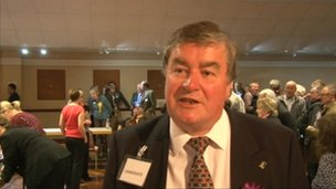UKIP councillor for Drybrook and Lydbrook Colin Guyton