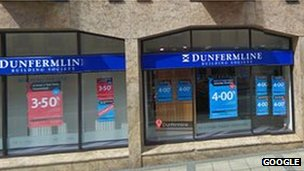Dunfermline Building Society branch in Dunfermline