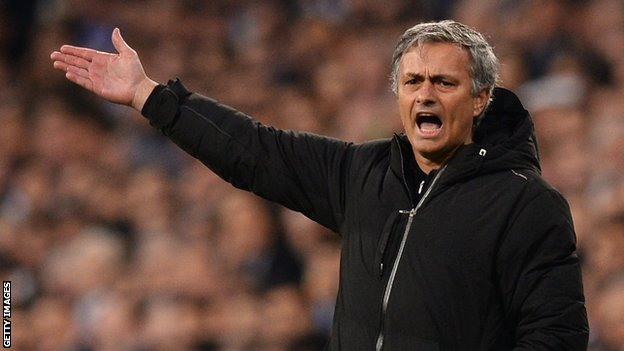 Real Madrid's Jose Mourinho