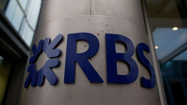 RBS offices in London