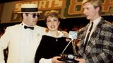 Elton John, Jayne Torvill and Christopher Dean