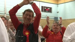 Labour supporters in Oxfordshire